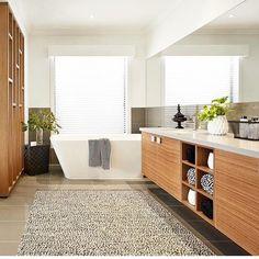 Freestanding Bath, Looking Stunning, Bathroom, Storage, Furniture, Instagram, Home Decor, Freestanding Tub, Washroom