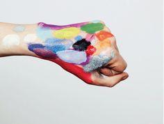 PALETTE HAND | LESLIE DAVID — Patternity