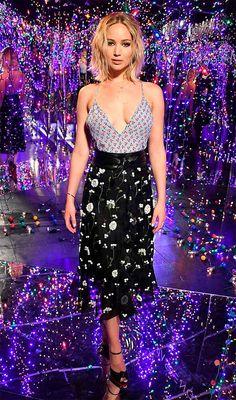 Jennifer Lawrence look.