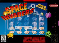 Space Invaders (purchased June 2015)