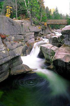 Diana s Bath, White Mountains, New Hampshire - George Oze