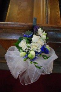 Matrimonio in blu: tema anglosassone!