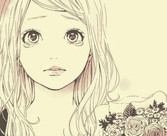 Naho so beautiful *.* T.T Manga Orange by Ichigo Takano