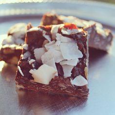 Chokladrutor med kokos |