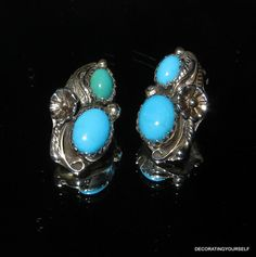Sharon Cisco Sterling Silver Turquoise Stone by DecoratingYourself