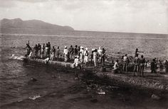 Swimming Pier, Fort de France, Martinique, ca 1900