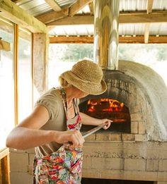 Pizza at Suncrest Gardens working farm-Th & Fri summer-Alma, WI