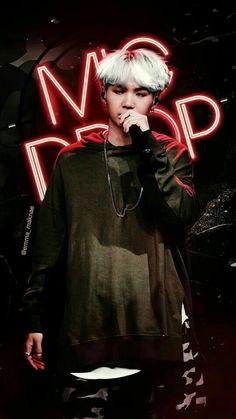 """""""Mic Drop"""" BTS Wallpaper Min Yoongi"""