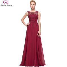Back Red Formal Dress Engagement Party Gowns