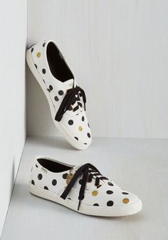 Dot You'd Never Ask Sneaker From the Plus Size Fashion Community at www.VintageandCurvy.com
