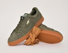#Puma States Winter Gum Olive #sneakers