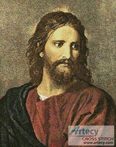 Christ at 33 cross stitch pattern.