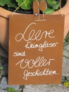 "Edelrost Schild mit Weinflasche und Glas ""leere Weingläser"" Noble rust sign with wine bottle and glass of empty wine glasses Angels Garden, Garden Quotes, Wedding Humor, Best Friend Gifts, Wine Cellar, You Are The Father, Beautiful Gardens, Hand Lettering, Paper Crafts"