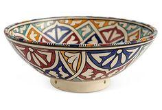 Ceramic Bowl, Multi on OneKingsLane.com