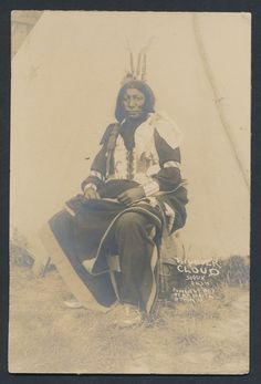 Thunder Cloud, Sioux Vintage Native American Cabinet Photo by Benjamin Waite. Date 1907 Indian Tribes, Native American Tribes, Native American History, Native Indian, Blackfoot Indian, Black Indians, First Nations, Rock, Nativity
