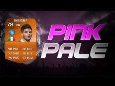 FIFA 14 MOTM INSIGNE PINK PALE CON LA FEBBRE! FIFA MOTM INSIGNE PINK SLI...