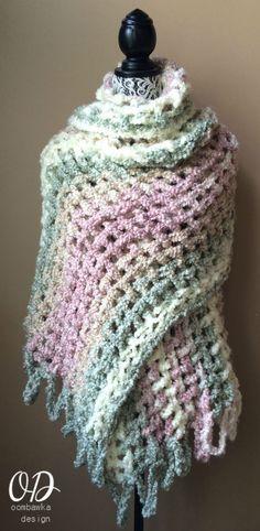 Crochet Prayer Shawl Free Pattern                                                                                                                                                     More