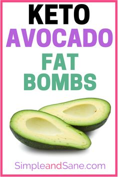 Learn how to make 7 Keto Fat Bombs with avocados - you need good fats on your ketogenic diet and these Avocado Butter recipes deliver results! Spread them on! Avocado Fat, Avocado Butter, Healthy Eating Recipes, Low Carb Recipes, Diet Recipes, Banting Recipes, Healthy Tips, Diet Tips, Ketogenic Diet Food List