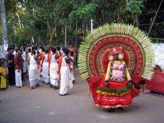 Varkala, Kerala, Temple Festival Photos