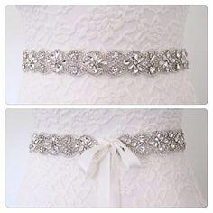 Bridal sash beltwedding dress beltall around bridal by BridalStar