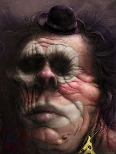 100 Intensely Creepy Pictures - From Freaky Eyeball Art to Skeletal Parktography (CLUSTER)