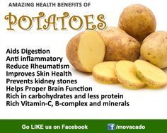 Whats your favorite potato recipe?! Share it with us! Veggies are Healthy @ http://www.facebook.com/movacado