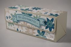 Stampin Up, Verpackung, Anleitung, Schachtel, Box, Tutorial, Claudiasecke