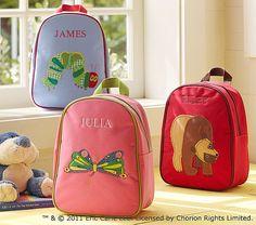 Eric Carle backpacks
