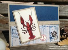 Lobster_by_ChillOutAndStamp by ChillOutAndStamp - Cards and Paper Crafts at Splitcoaststampers