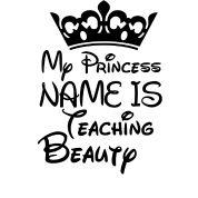 7428cdf3e Teaching Beauty T-Shirt | Kreative in Kinder's T-Shirts Teacher Shirts,  Preschool