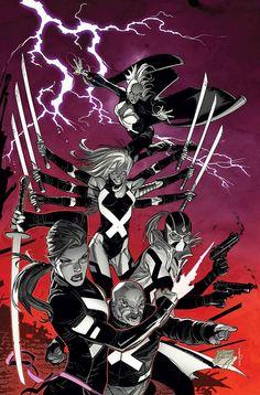 Uncanny X-Force // artwork by Ron Garney (2013)
