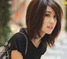9.Asian Bob Cut