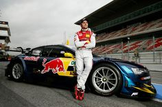 Jamie Green with his Audi RS5 DTM for 2013 DTM Championship - OZ Racing Wheels for Audi Sport! #OZRACING