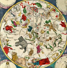 Astrological Map for Seating Chart