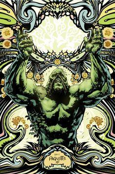 Swamp Thing #7 : la couverture de Yannick Paquette   COMICSBLOG.fr