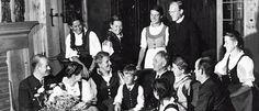 The Real Maria von Trapp, with Captain von Trapp and the von Trapp Children