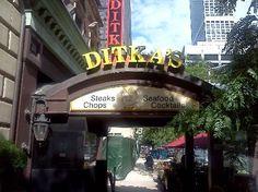 Mike Ditkas Restaurant, Chicago, IL - got to meet him!