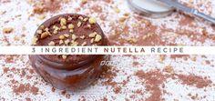 3 ingredient nutella recipe -no sugsr YUM YUM!