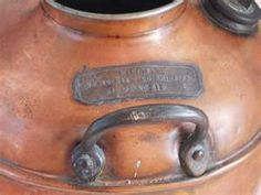 Prohibition Era Moonshine Whiskey Copper Still Boiler Pot