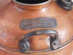 Prohibition Era Moonshine Whiskey Copper Still Boiler Pot
