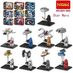 $9.39 (Buy here: https://alitems.com/g/1e8d114494ebda23ff8b16525dc3e8/?i=5&ulp=https%3A%2F%2Fwww.aliexpress.com%2Fitem%2FDecool-901-909-Star-Wars-MiniFigures-White-Solider-Clone-Trooper-Captain-Rex-Jek-14-Clone-Commander%2F32715380761.html ) Decool 901-909 Star Wars   White Solider Clone Trooper Captain Rex Jek 14 Clone Commander Building Blocks toys for just $9.39