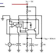 Frequency to Voltage Converter Circuit - #coolelectronics - Please visit Electronic Circuit: Frequency to Voltage Converter Circuit for more detail information.... Electronics Mini Projects, Kids Electronics, Electronic Gadgets For Men, Electronic Circuit, 2020 Technologies, Frequency, Voltage Converter