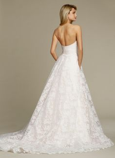 Bridal Gowns, Wedding Dresses by Jim Hjelm - Style jh8556