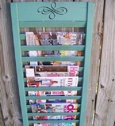 Unique rack idea.