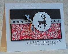 CAS142 - Merry Christmas by rainy - Cards and Paper Crafts at Splitcoaststampers