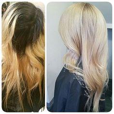 Walked in filthy, walk out rich #milwaukeestylist #milwaukeesalon #hairofinstagram #hairdo #hairdown #hairgasm #hair #hairtransformation #instagood #instamood #instalike #beauty #beautiful #beautyguru #beautytip #beautysalon #blondeasian #blondehair #blonde #instablonde #igdaily #hairgoals #beforeandafter #btconeshot_transformations16 #modernsalon #btconeshot #behindthechair
