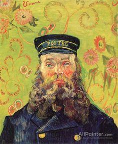 Vincent Van Gogh Joseph-etienne Roulin oil painting reproductions for sale