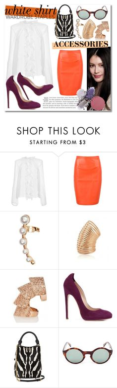 """Sin título #951"" by meelstyle ❤ liked on Polyvore featuring Dolce&Gabbana, H&M, Vivienne Westwood, Chloe Gosselin, Burberry and Oliver Goldsmith"
