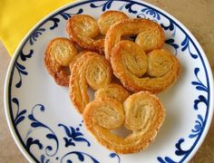 Palmiers recipe from your friends at #SundaySupper. Just 3 ingredients to perfect cookies.