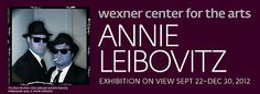 Wexner Center for the Arts: Buy one gallery admission to Annie Leibovitz get one gallery admission free! Discount flier at http://www.experiencecolumbusdays.com/experience-columbus-days.pdf